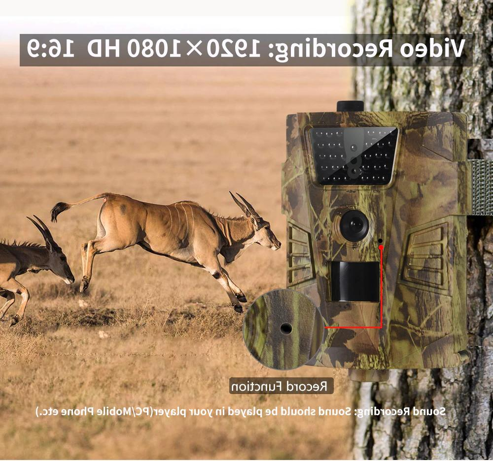 Wildlife Camera Game Cam IR Waterproof 12MP
