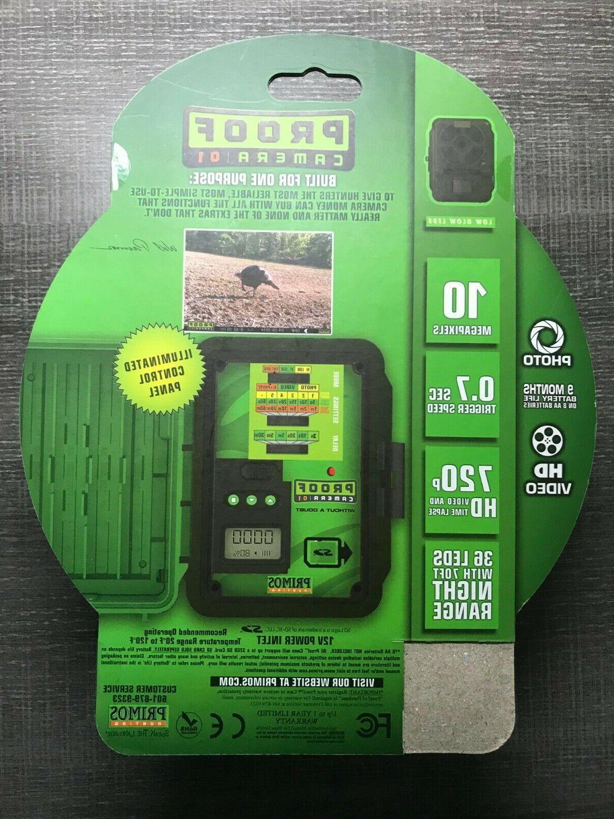 Primos Hunting Proof Cam 10 Trail Camera Glow