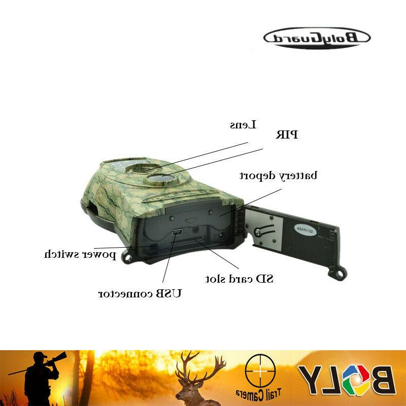 Boly Trail Camera 1080P 940nm flash range
