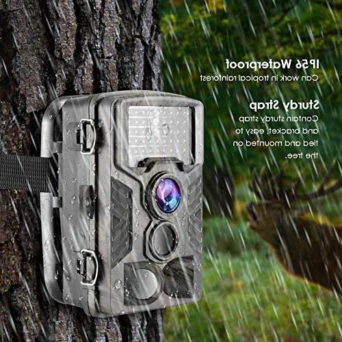 Climbose Hunting Trail 20MP Vision Video Cam, 65FT LCD, Waterproof IP56, Instant Surveillance Camera