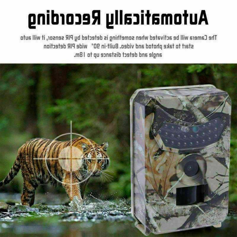 Infrared HD 1080P IR 12MP Trail Camera Cam