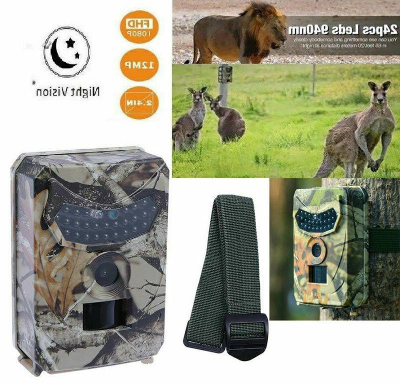 Infrared Vision 12MP Security Hunting Cam