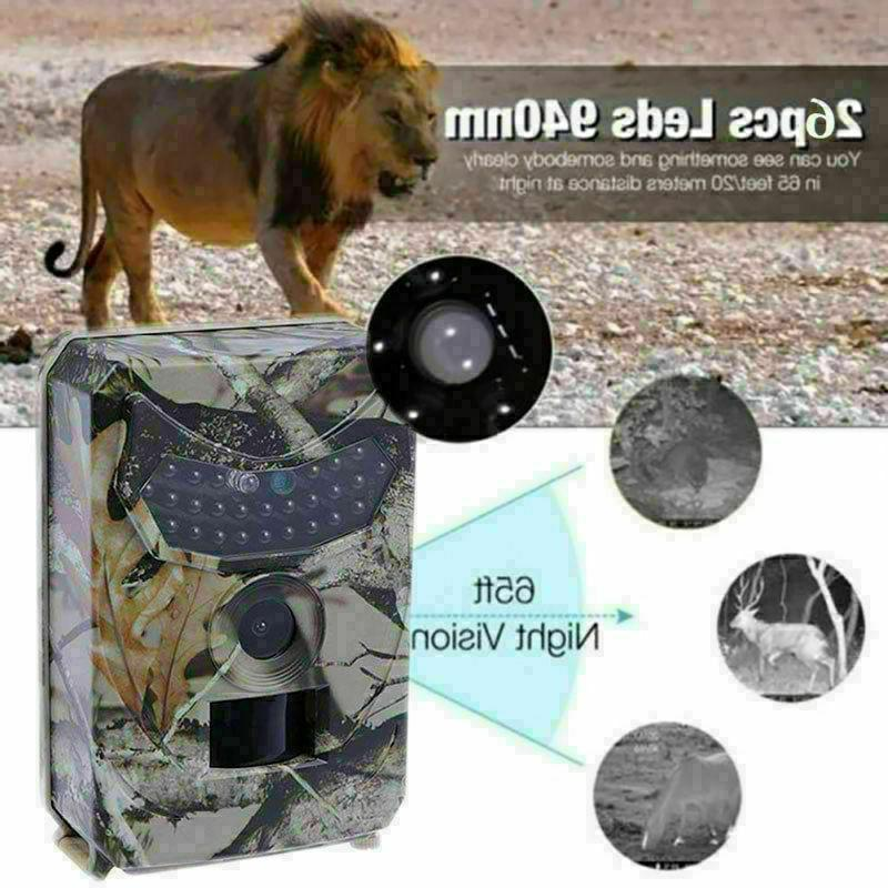 Infrared Vision 12MP 120° Trail Security Camera