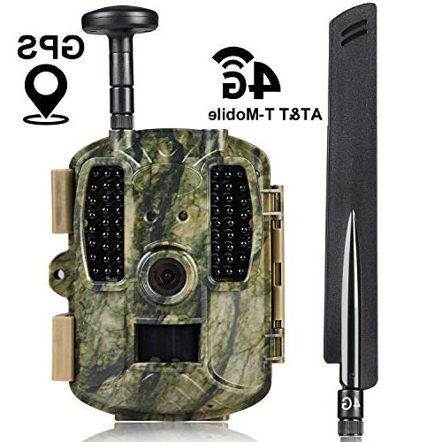lte cellular gps trail hunting