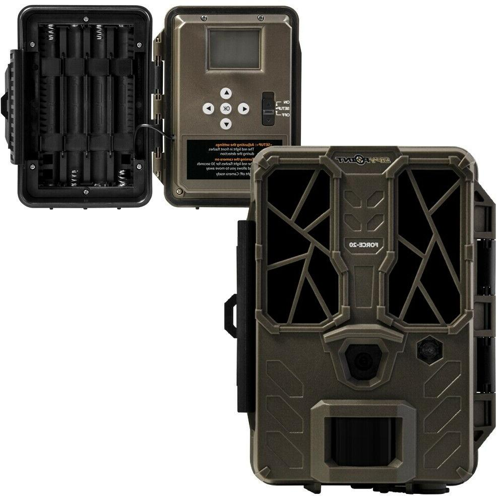 new 19 product force 20 trail camera