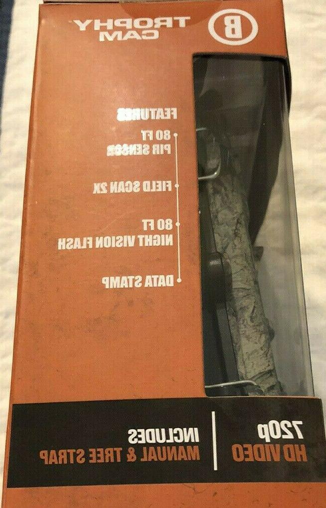 NEW Bushnell 20 MP Trail Camera Trophy Cam 119717CW 720p Day/Night