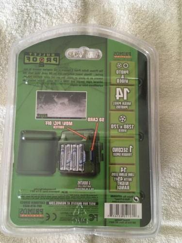 New Hunting Bullet Proof Camera lED