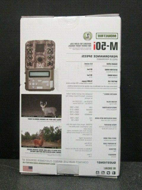 NEW! Moultrie- M-50 i- Invisible MP