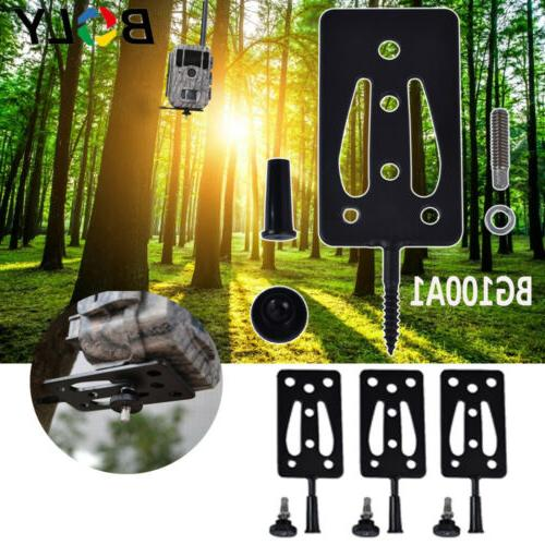 Hunting Trail Cam Camera Tree Mounting Bracket Stand Holder