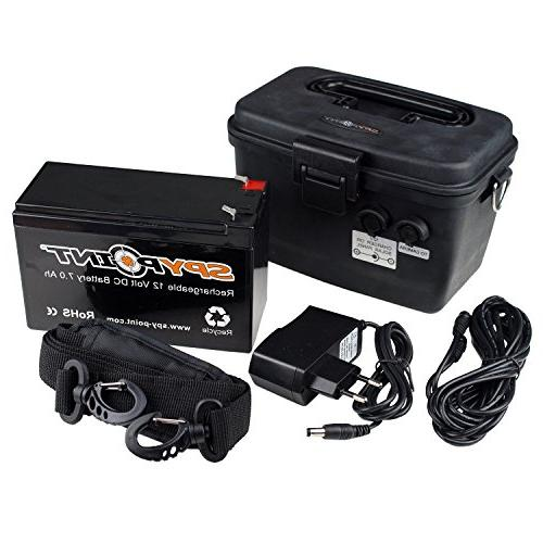 Spypoint 12V Rechargable Battery with AC Charger Kit 711849