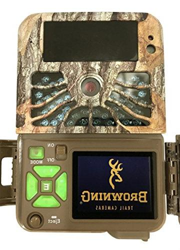 Browning Recon Force Trail Game Camera Plus Includes 8 and J-TECH Card BTC7-4K