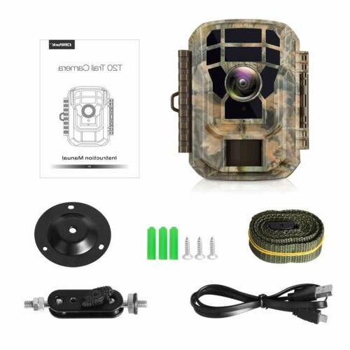 Campark Small Waterproof Scouting