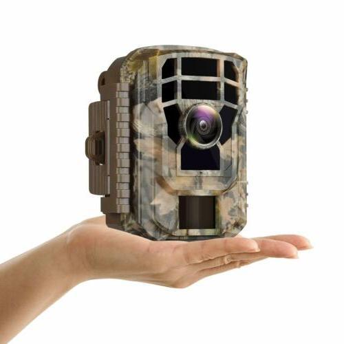 Campark Small Trail Camera-12MP Wildlife Waterproof Scouting