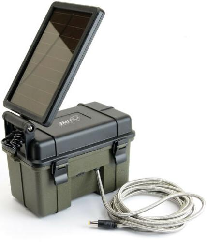 NEW Hme Products Trail Camera 12v Solar Aux Power Pack Hme-1