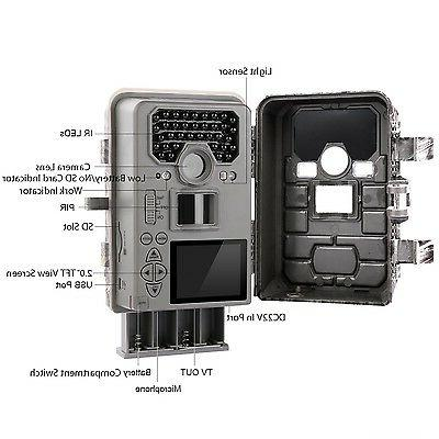 TEC.BEAN 12MP Game Camera No Glow Scouting