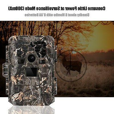 TEC.BEAN 1080P Game & Trail Hunting Camera No Glow Scouting