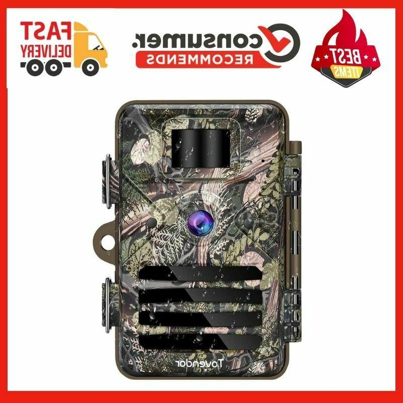 Tovendor Trail Cameras with Night Vision Motion Activated Wa