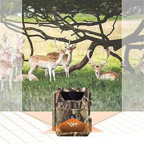 WingHome Trail 12M Night Wildlife with Night No Glow Outdoor Wildlife Waterproof Home
