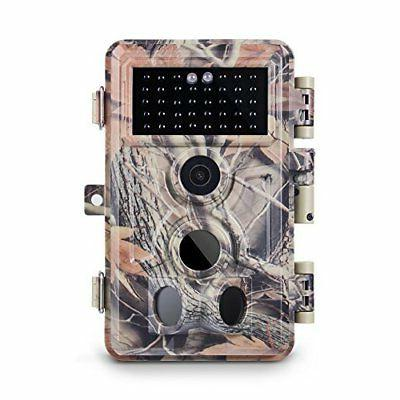 "Meidase Trail Camera 1080P, Game Camera with No Night Up 65ft, 0.2s Trigger Activated, 2.4"" Color Unique Hunting"