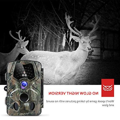Victure Night Vision Activated Waterproof Camera 120°View Wildlife Home
