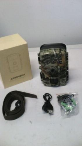 trail camera 1080p 12mp game hunting infrared