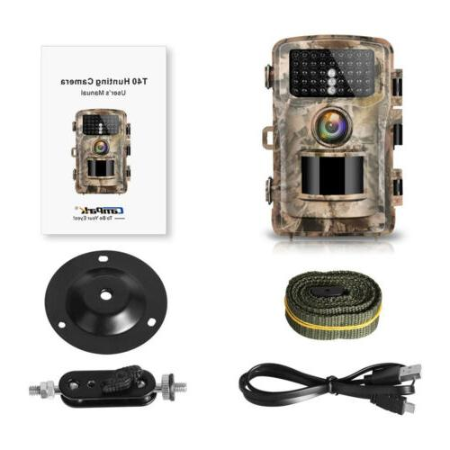 Campark Trail Hunting Cam 14MP Wildlife Game