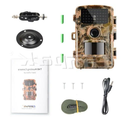 Campark Hunting Cam 14MP Game Scouting Vision