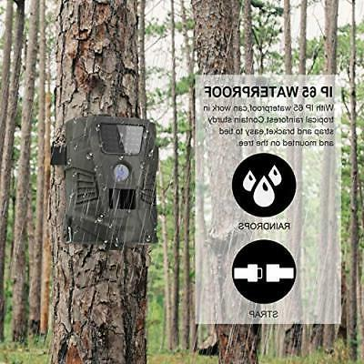 DIGITNOW Trail Camera – 12MP 1080P FHD Wildlife Scouting Hunting