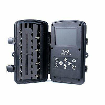 Wosports Trail Camera, 12MP Outdoor Infrared Night