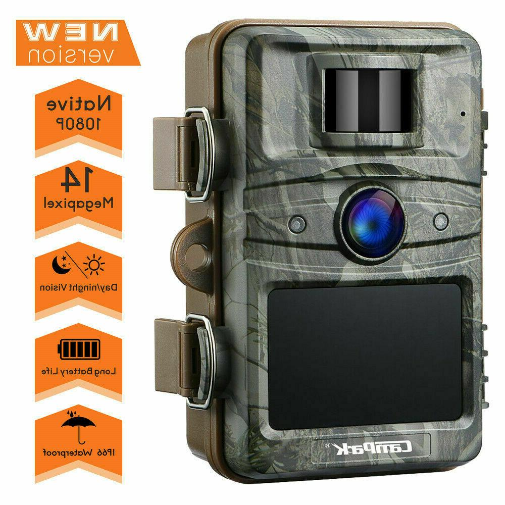 Campark Trail Camera 1080P Game Wild Hunting IR