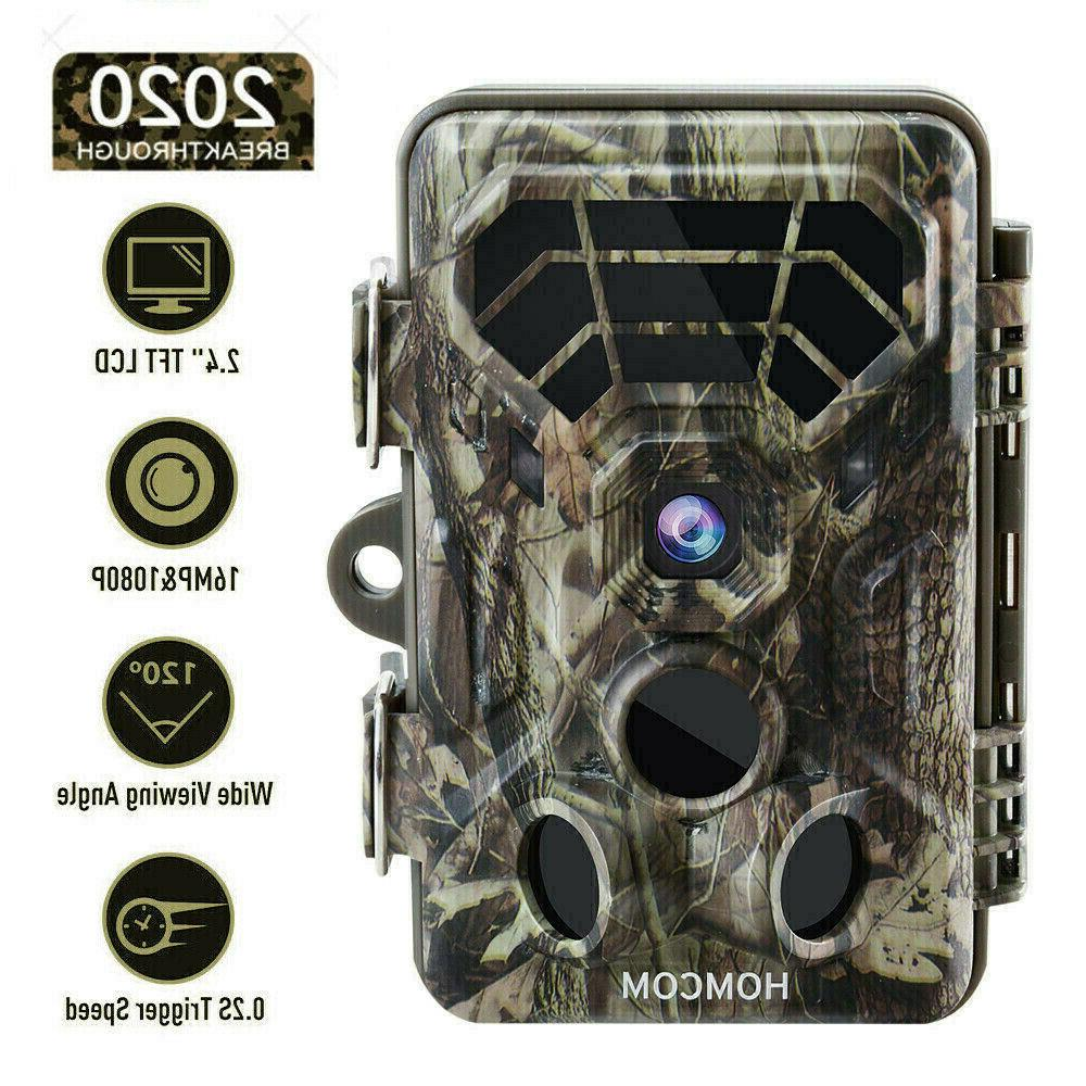 trail camera 16mp 1080p game camera motion