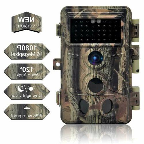 16mp 1080p infrared night vision wildlife hunting