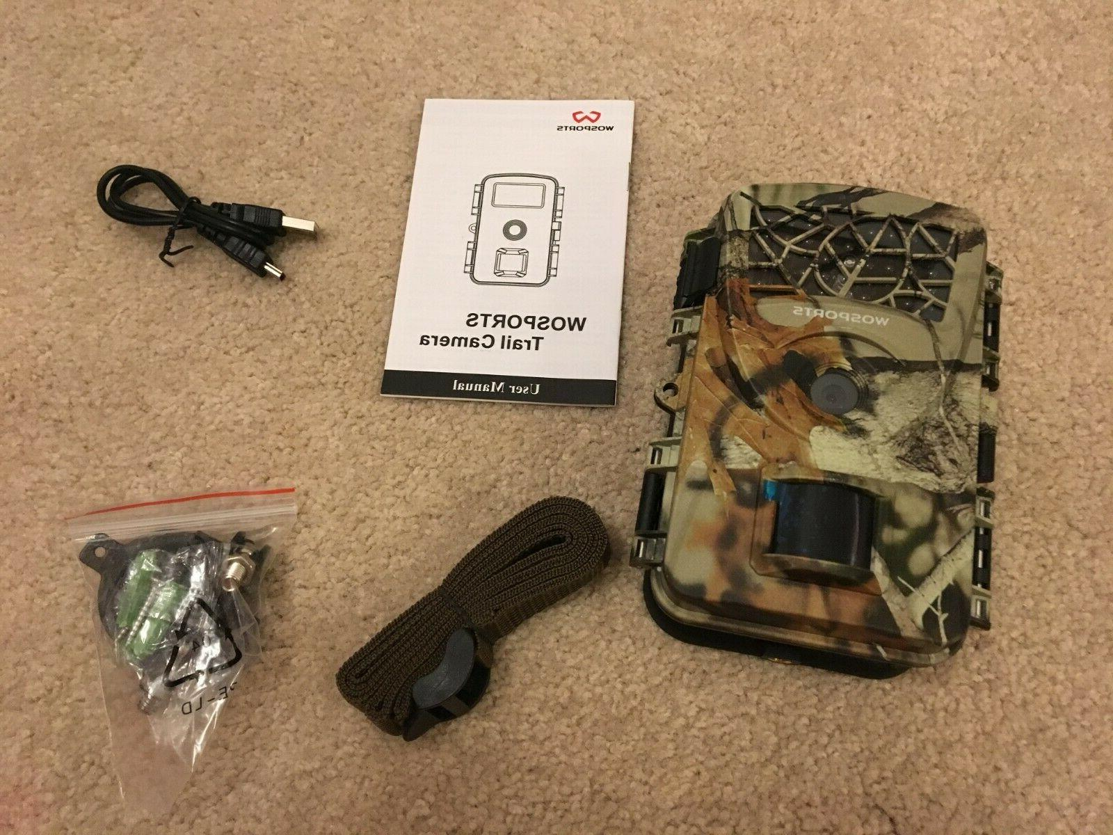 trail camera 2019 upgraded 1080p 12mp hunting