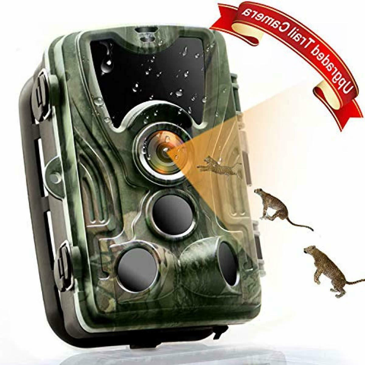 trail camera 2019 upgraded 16mp 1080p wildlife
