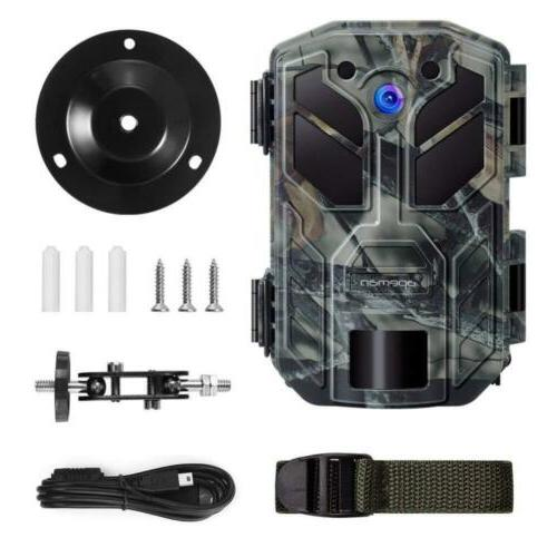 APEMAN Trail 20MP 1080P Hunting PCs LED Night...