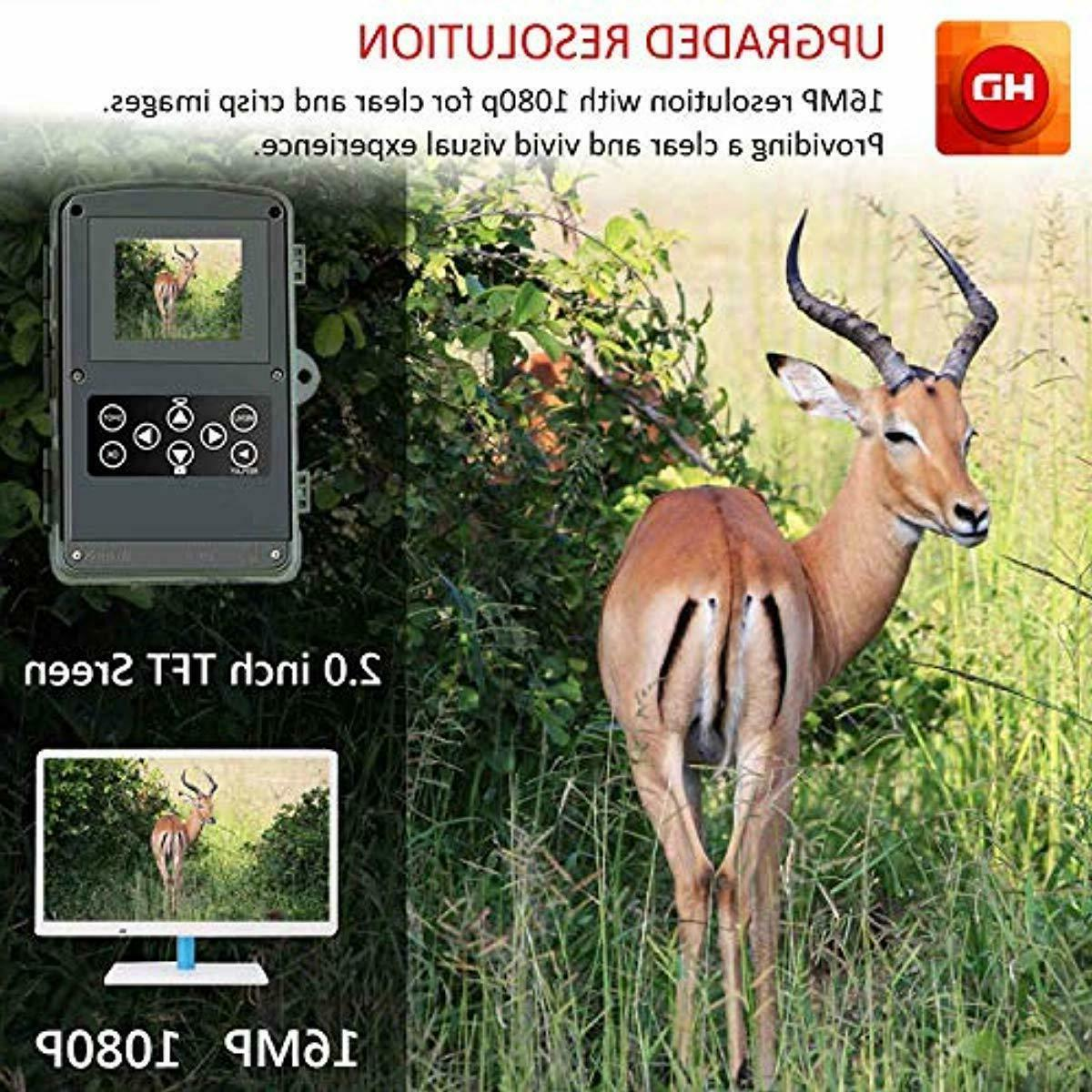 Trail Camera, Camera with Motion