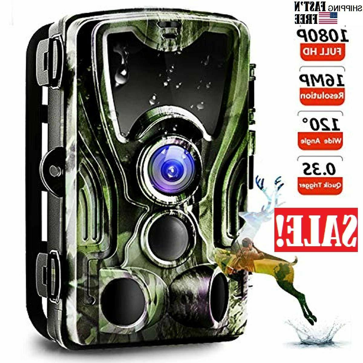 trail camera game hunting camera with night