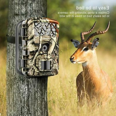 Trail Camera 2019 Upgraded Motion Activated Night 65Ft
