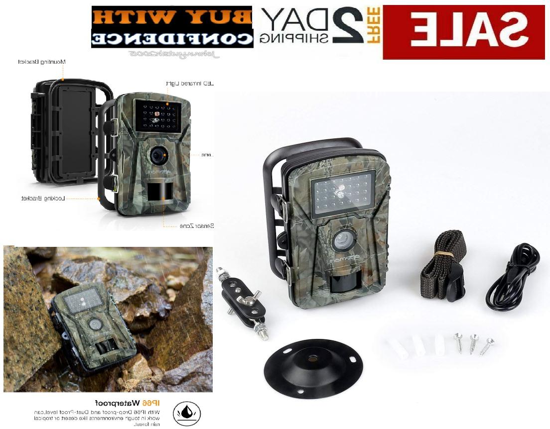 trail camera motion activated outdoor security hidden