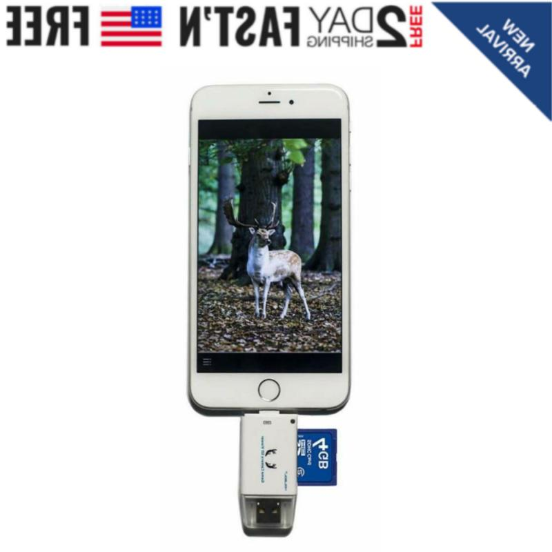 trail camera sd card reader hunting viewer