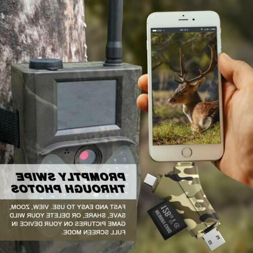 Trail & Micro Reader Scouting Deer Hunter,Camouflage