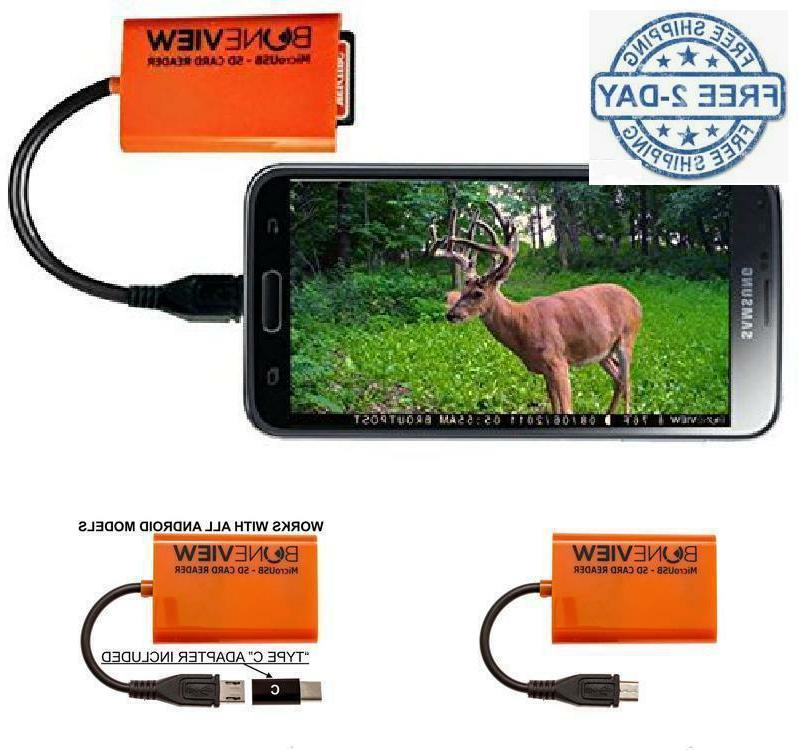 trail camera viewer sd card reader type