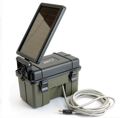Trail Camera Waterproof Battery Power Pack Solar Auxiliary L