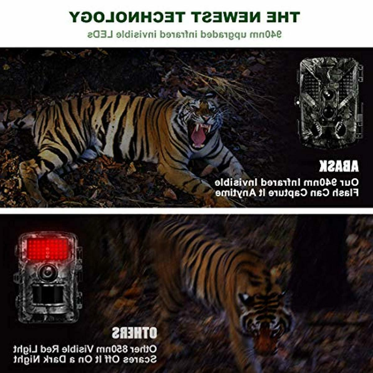 Trail Cameras Full HD,Night Activated,with 32G Card