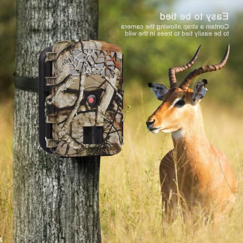 WOSPORTS Trail Game 1080P Hunting Cam for