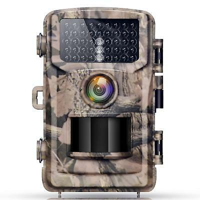 trail game camera 12mp 1080p waterproof wildlife