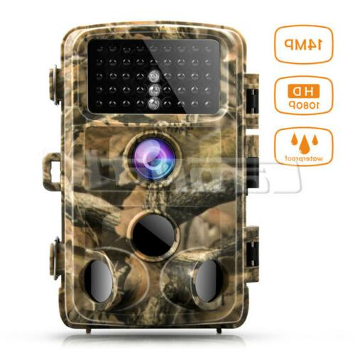 Campark Trail Wildgame Camera 14MP FHD 1080P Waterproof IR H