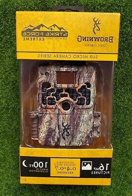 trail game camera strike force extreme sub