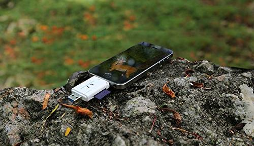 Kolsol Dual-use Game Camera SD IOS Connector Reads SD Micro SD Cards