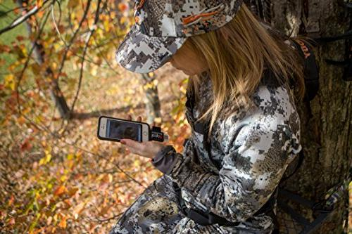 Leap Outdoors Game Camera Card for iPhone Works with Cases Reads SDHC, Micro Cards